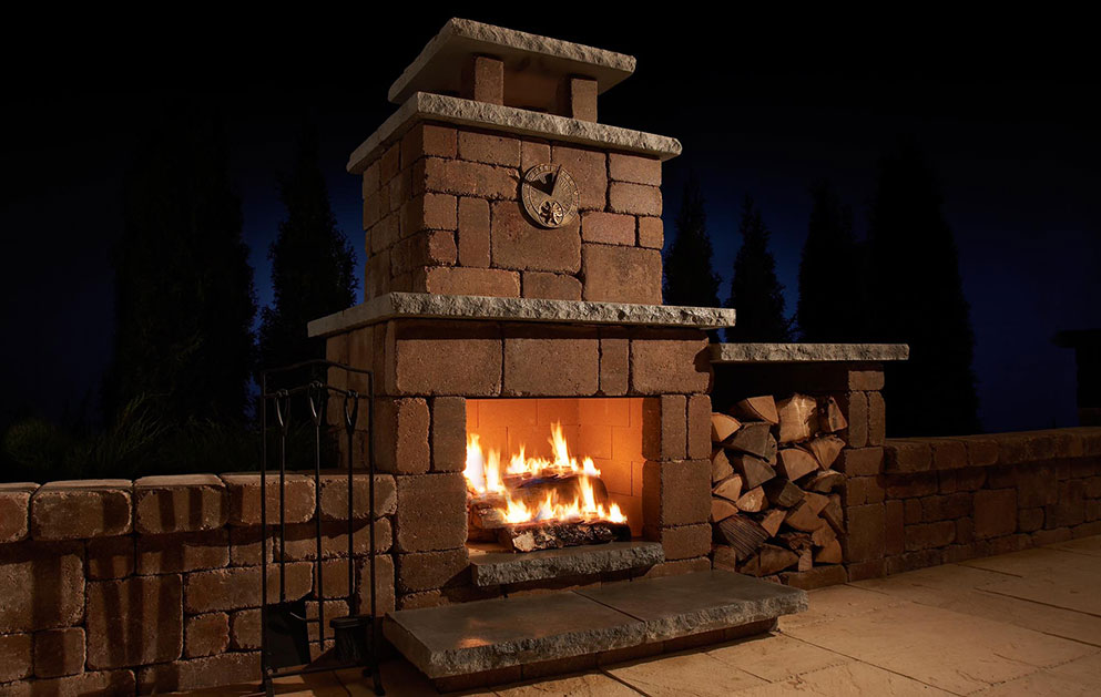 Outdoor Fireplaces Franklin Stone