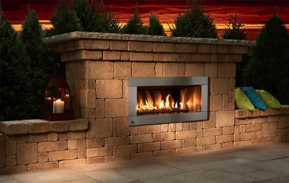 with poynter st patio fireplace fireplaces services louis landscape backyard outdoor