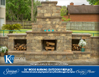 Country Manor 3-pc Fireplace w/Woodboxes Kit PDF