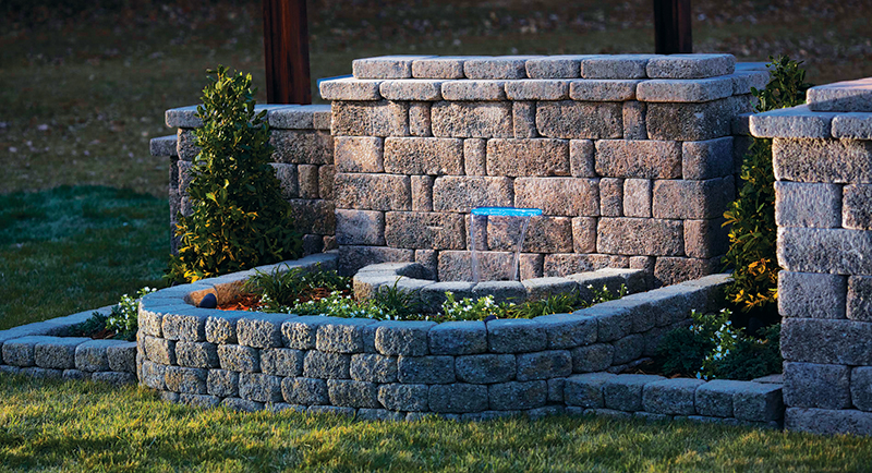 Water feature franklin stone for Do it yourself water features
