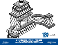 Country Manor 3-pc Fireplace w/Curved Wall Kit PDF