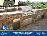 Country Manor 3-pc Kitchen Linear Kit PDF