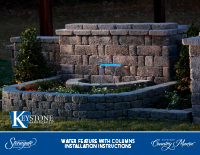 Country Manor 3-pc Water Feature Kit PDF