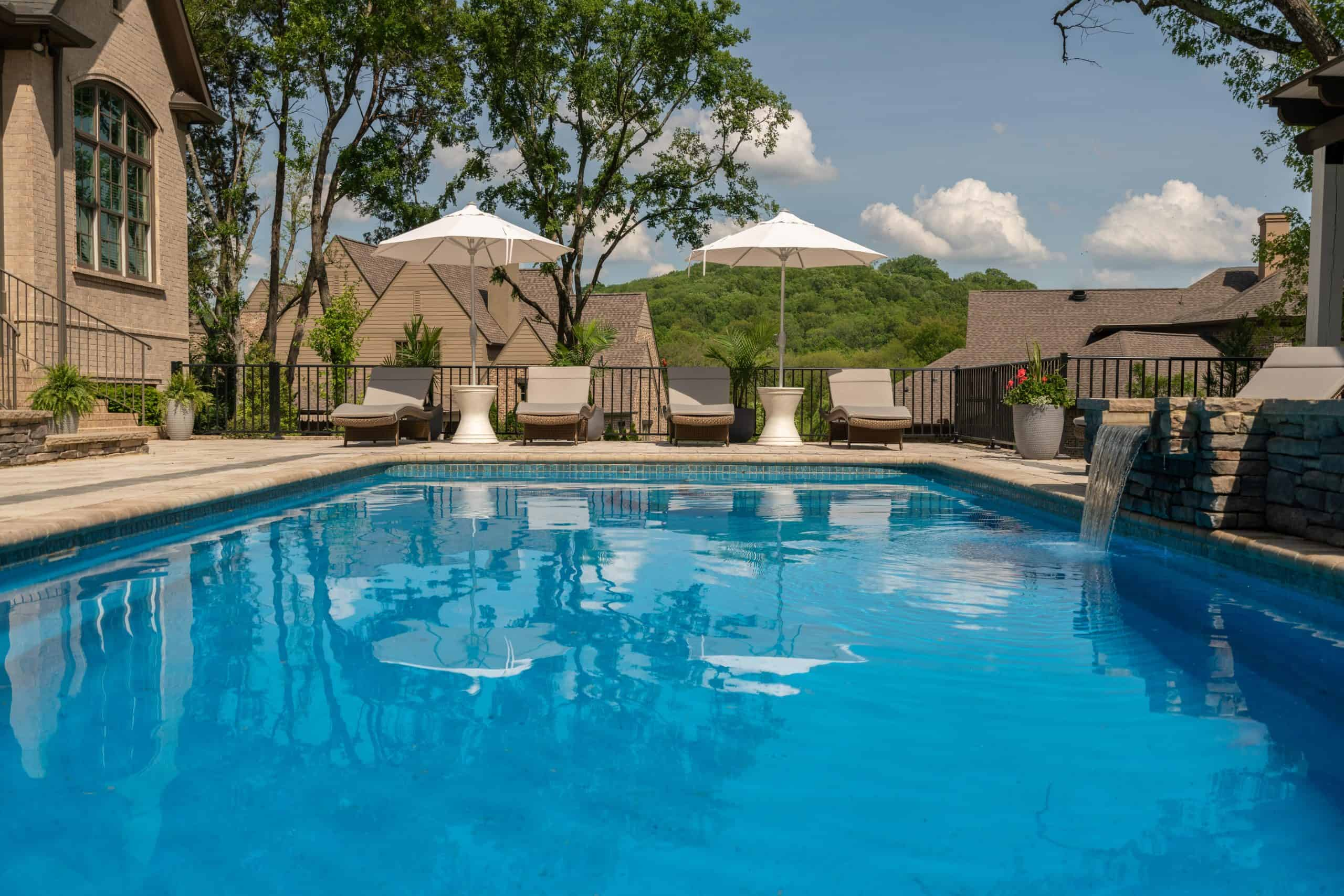Franklin, pools, construction, Middle TN, hot tub