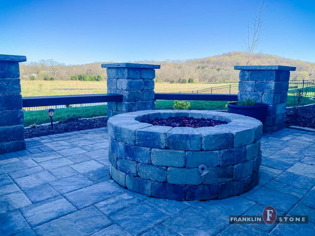 Franklin Stone outdoor stone firepit