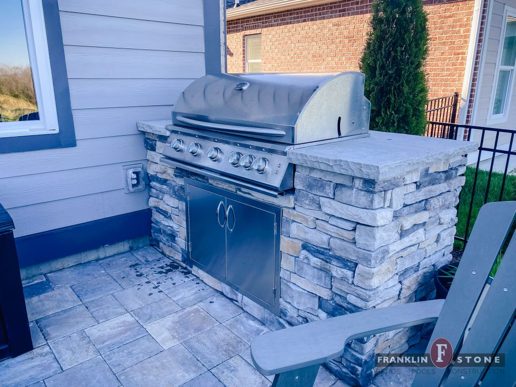 Franklin Stone Outdoor Stone Grill
